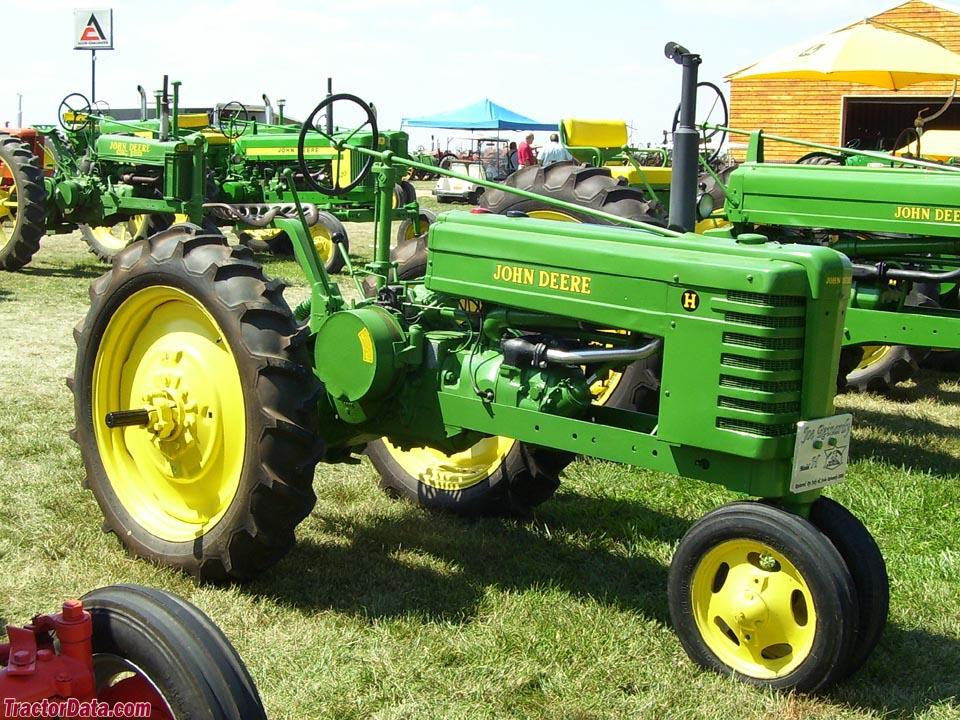 TractorData.com John Deere H tractor photos information