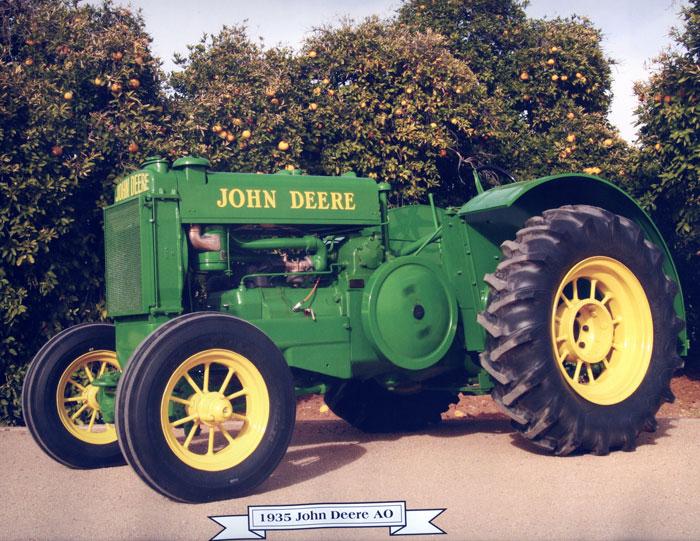 1935 John Deere AO   Agweb.com