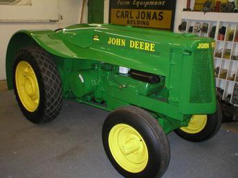 1937 John Deere AOS Antique Tractor