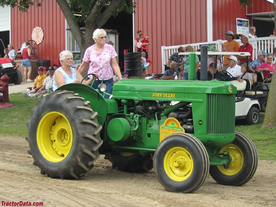 TractorData.com John Deere AR tractor photos information