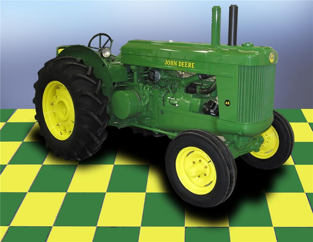 1950 JOHN DEERE AR TRACTOR - Barrett-Jackson Auction ...