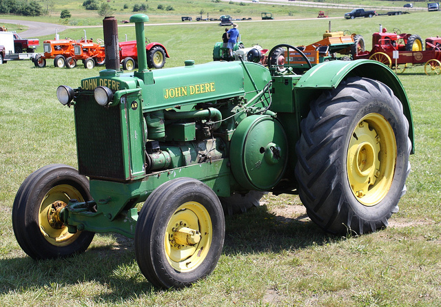 John Deere AR tractor | Flickr - Photo Sharing!