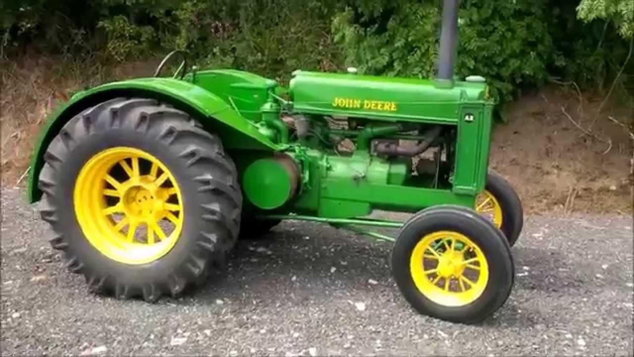 1948 John Deere AR - YouTube