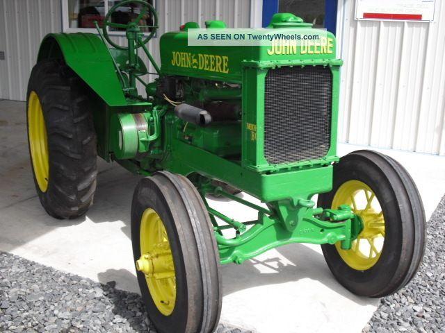 John Deere Bo Orchard Tractor