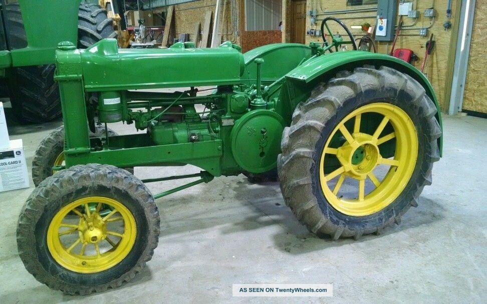1937 John Deere Bo Tractor Runs Good 730 830 G 70 720 820 ...