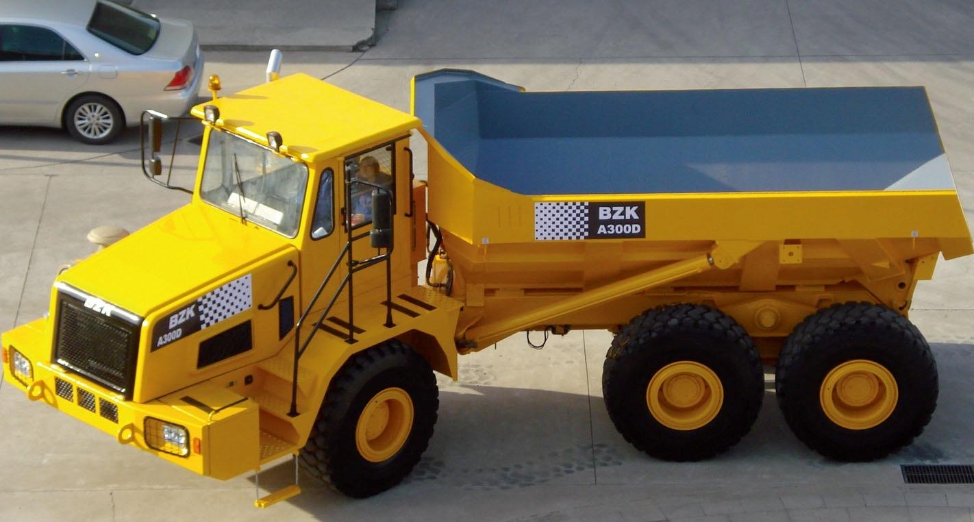 China A300D Articulated Dump Truck - China Tipper Truck ...