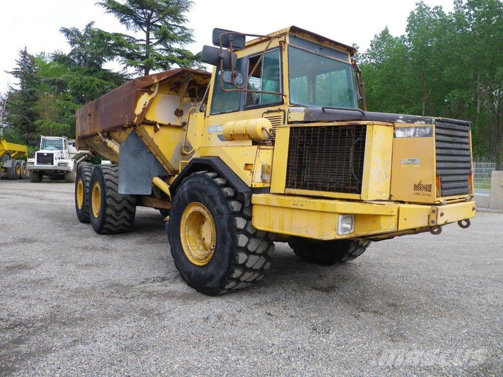 Used Volvo A25B articulated Dump Truck (ADT) Year: 1992 ...