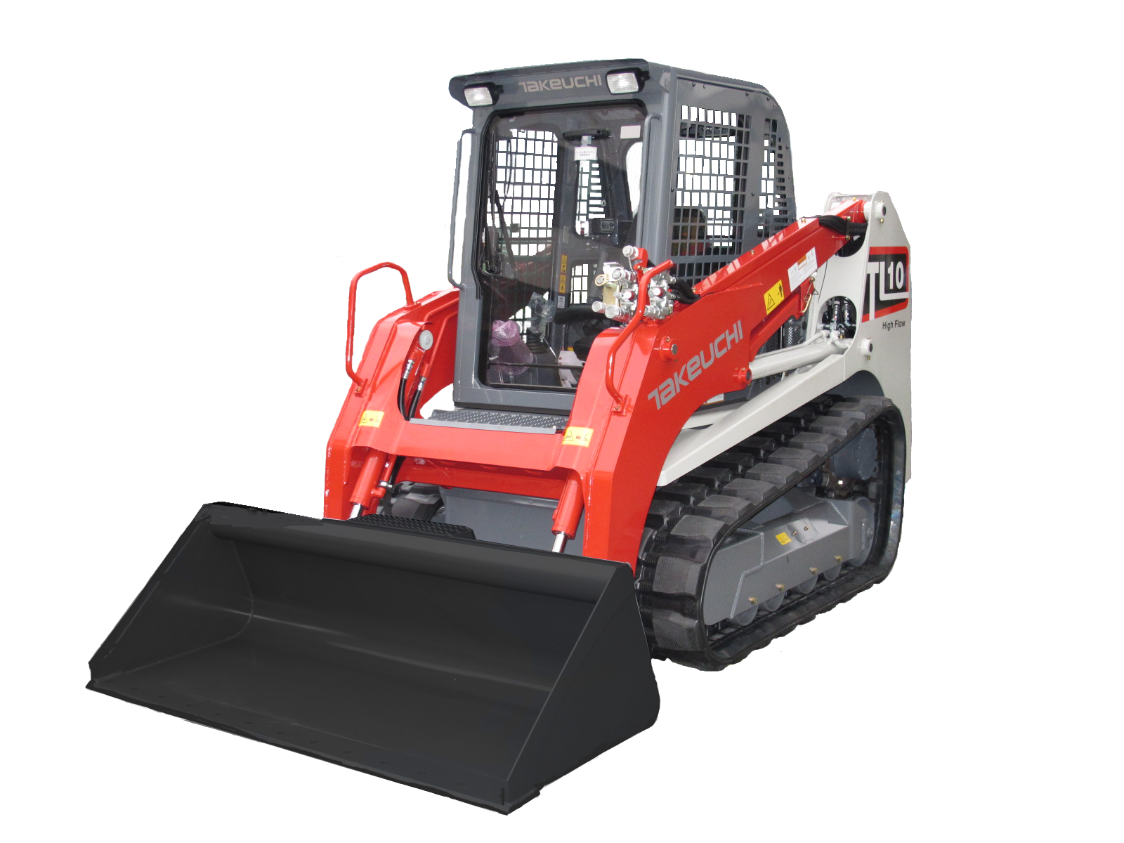 Takeuchi announces TL10 and TL12 compact track loaders ...