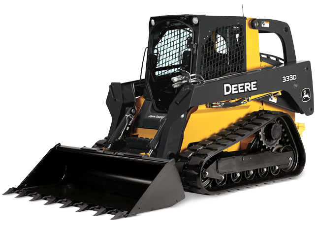 333D Compact Track Loader from John Deere