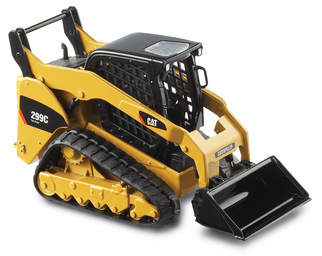 CAT 299C Compact Track Loader with work tools 55226 ...