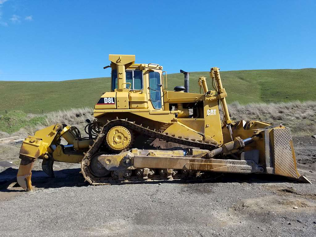 Caterpillar D8L Crawler Dozer For Sale, 15,700 Hours ...