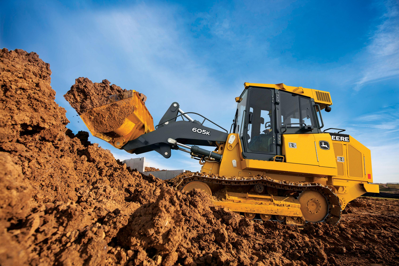 Customer-Inspired John Deere 605K Crawler Loader is the ...