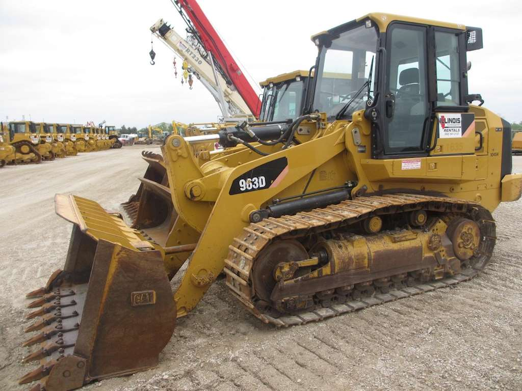 2007 Caterpillar 963D Crawler Loader For Sale, 6,024 Hours ...