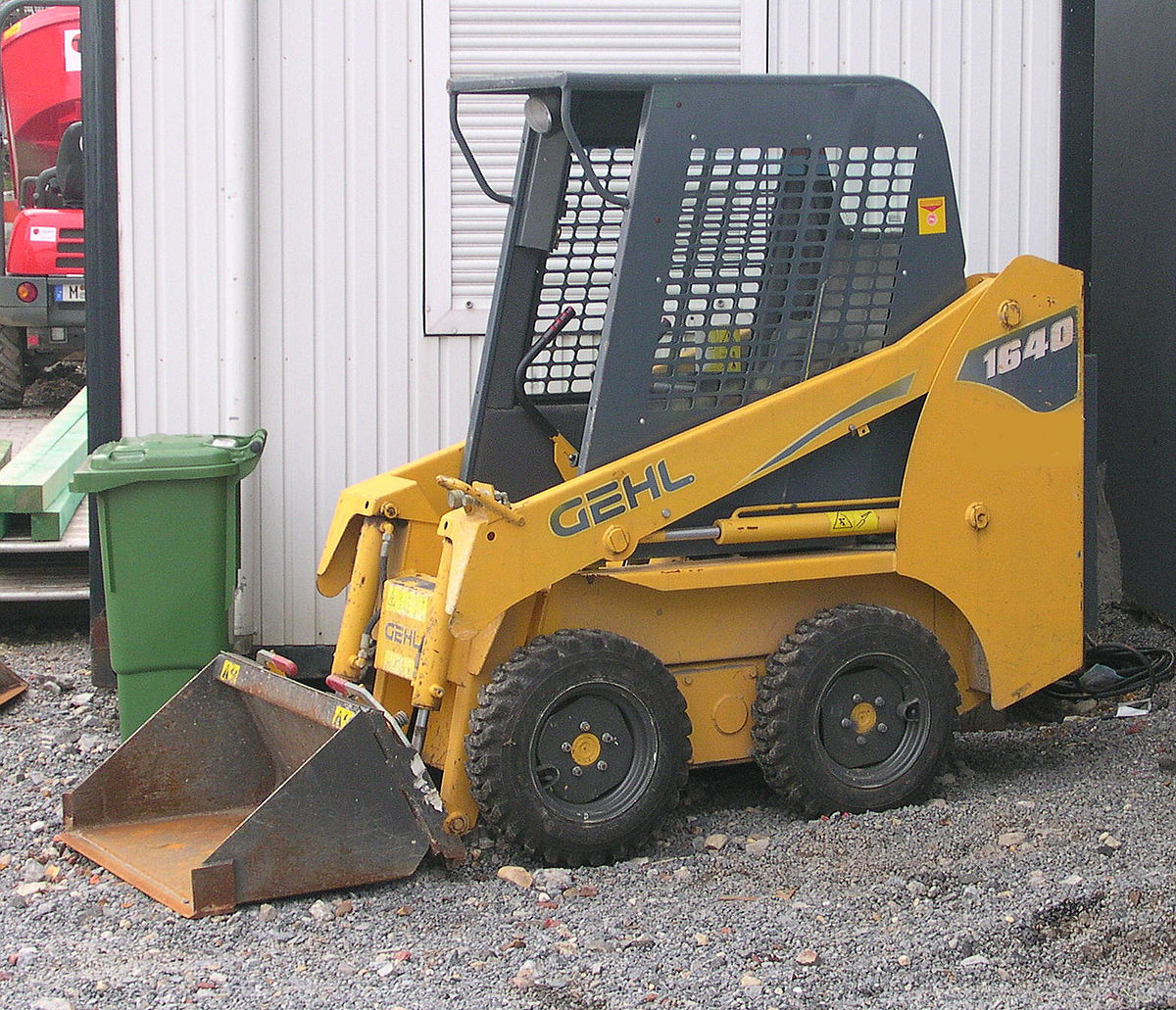Skid-steer loader - Wikipedia