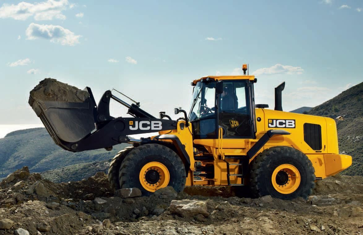 Aspal: JCB 432ZX Wheel Loader