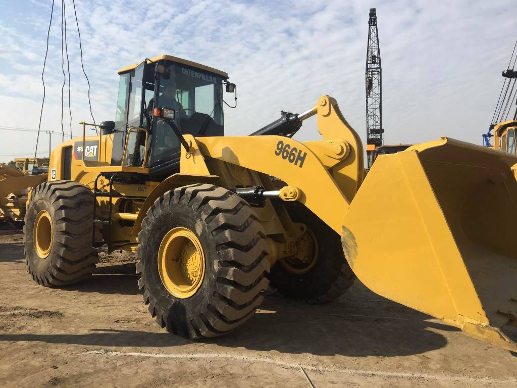 used caterpillar wheel loader 966f - Year: 2013 - Wheel ...