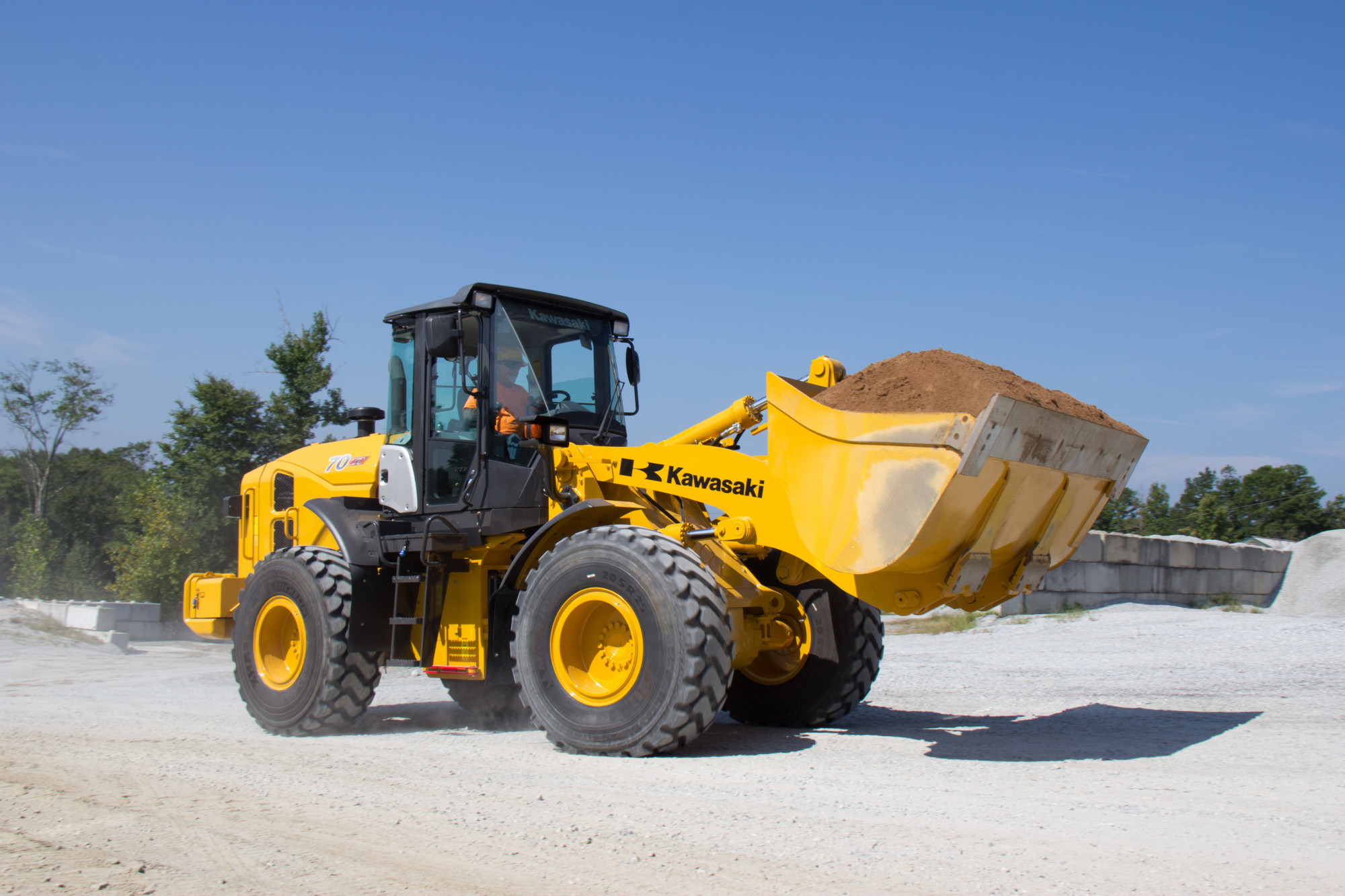 Product of the Week – Kawasaki 70Z7 wheel loaders