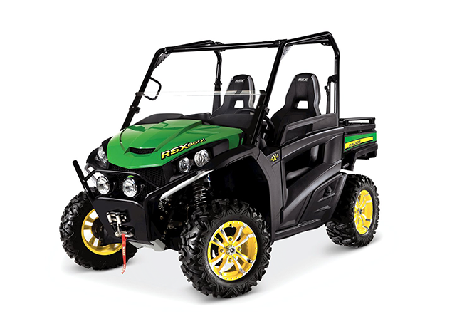 High-Performance Utility Vehicles | RSX860i |John Deere US