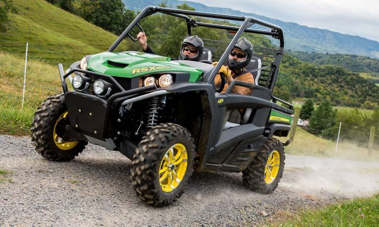 RSX High-Performance Utility Vehicles | Gator UVs | John ...