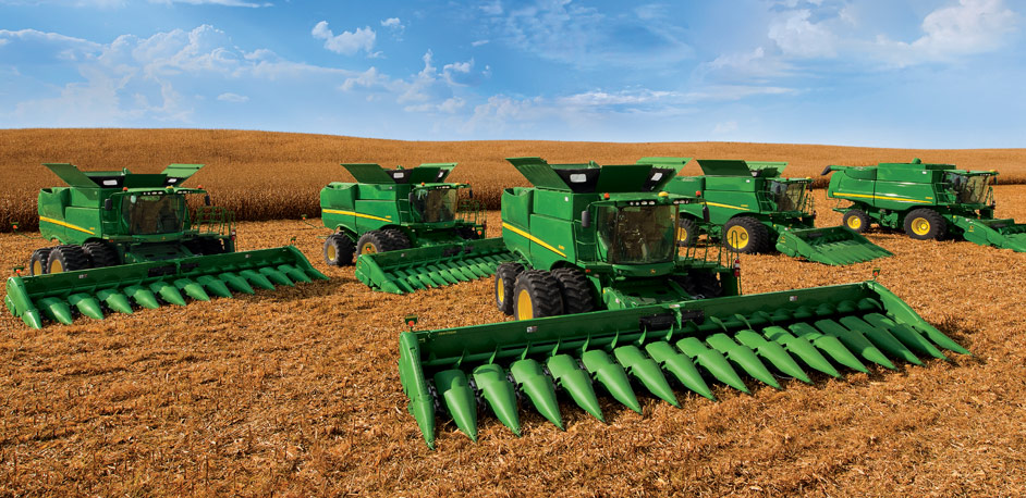 John Deere S-Series Combines: See, Feel, and Hear the ...