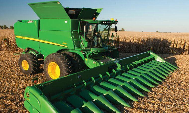 John Deere S Series Combines Grain Harvesting