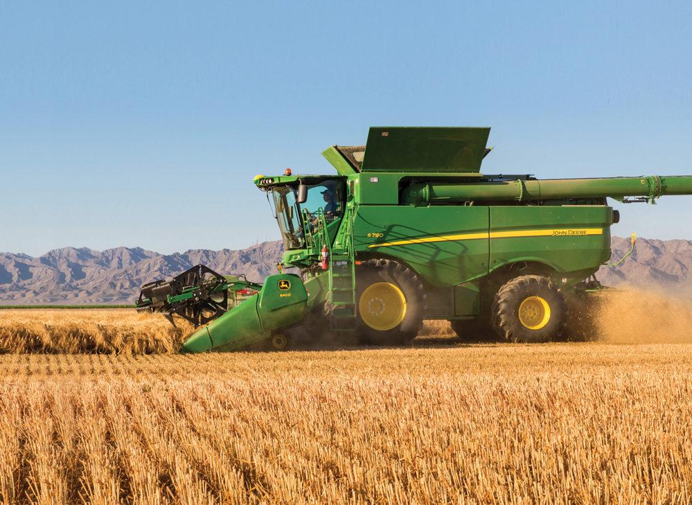 John Deere updates the S Series combine - Grainews