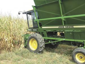 FARM SHOW - Cotton Picker Converted To Self-Propelled Corn ...