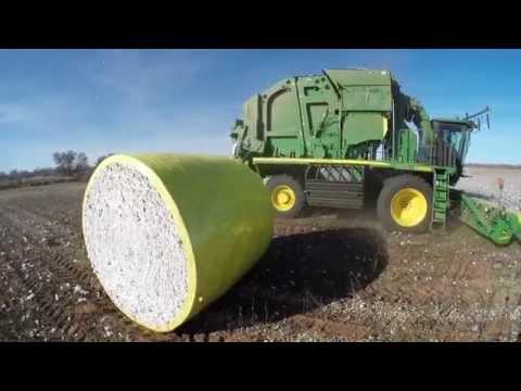 Deere Cotton Picker/Baler | FunnyCat.TV