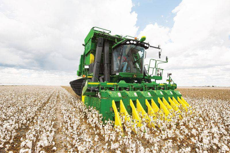 John Deere CP690 Cotton Picker - Agro Napló - A ...