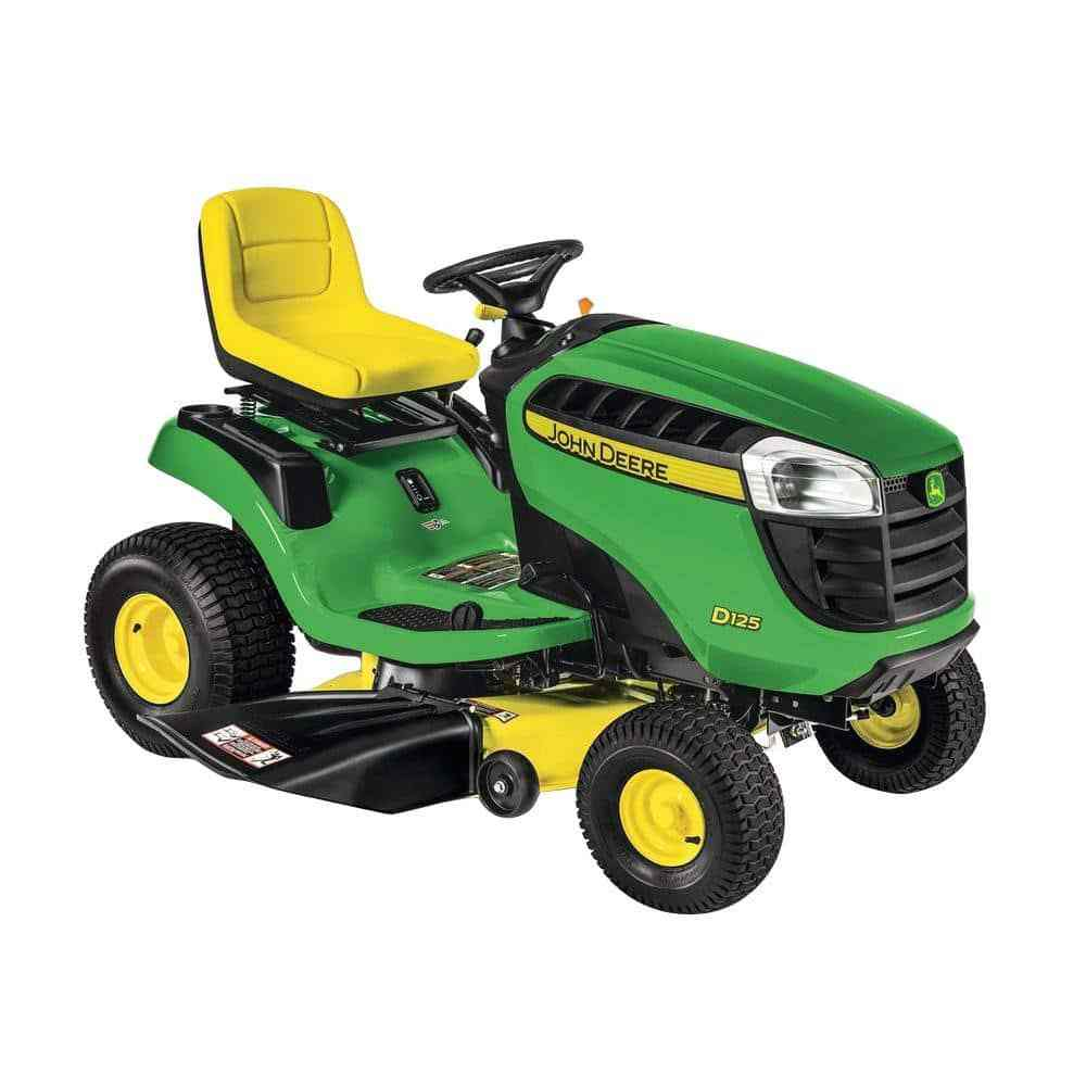 2017 John Deere D100 Series Lawn Tractors at The Home ...