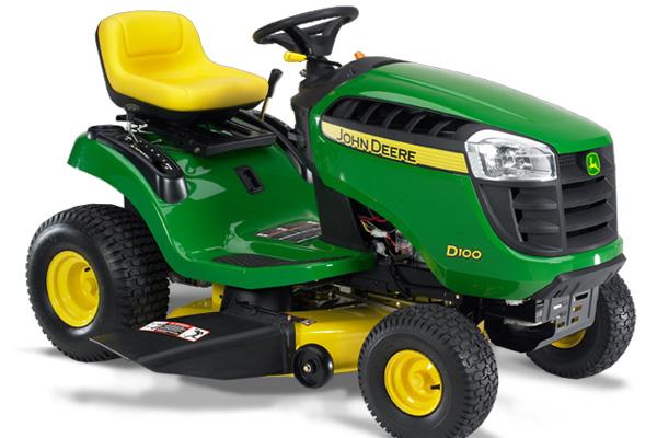 John Deere D100 Riding Mowers Select Series Lawn Tractors ...