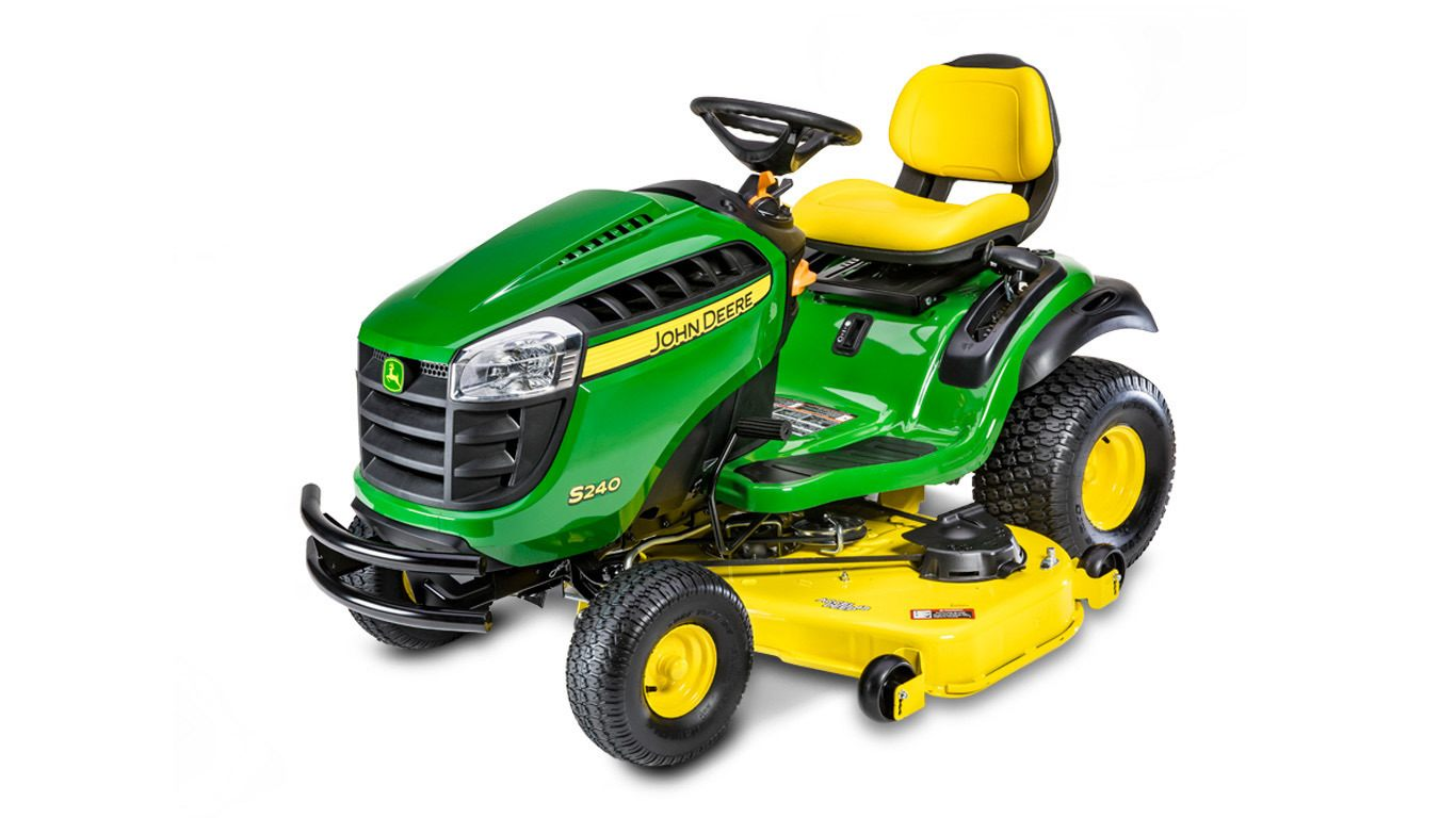 S240 Lawn Tractor with 48-in. Deck - New S240 Sport Series ...