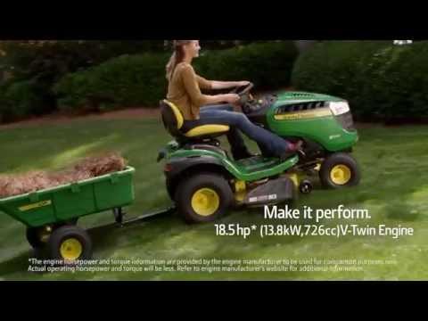 John Deere S240 Sport Series from AHW - YouTube