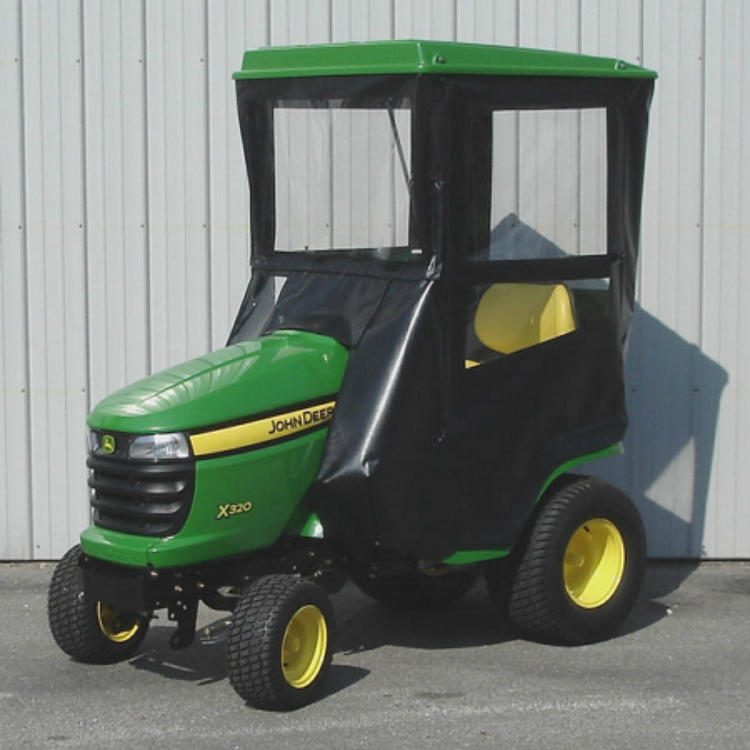 STANDARD CAB WITH HINGED DOORS FOR JOHN DEERE X300 SERIES ...