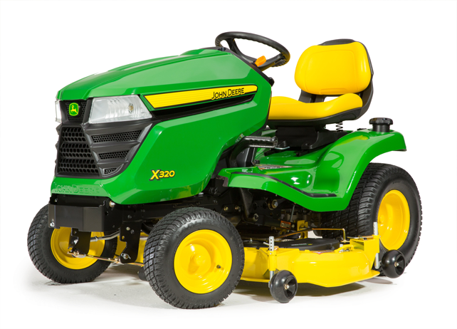 John Deere X320, 54-in. Deck Select Series X300 Lawn ...