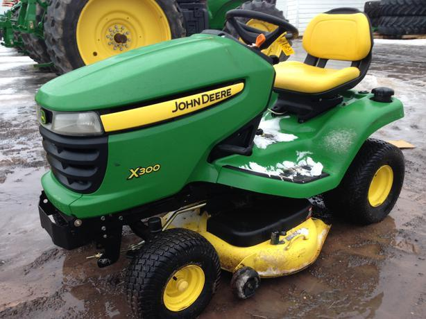 John Deere X300 Series X300 X304 X320 X324 X340 X360 Lawn ...