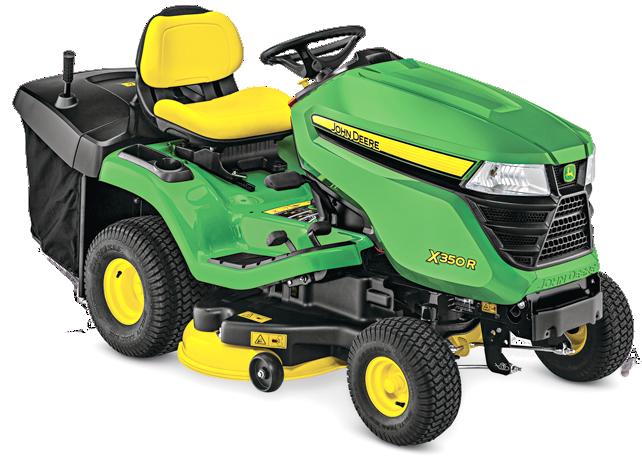 X300 Select Series Lawn Tractor   X350R   John Deere US