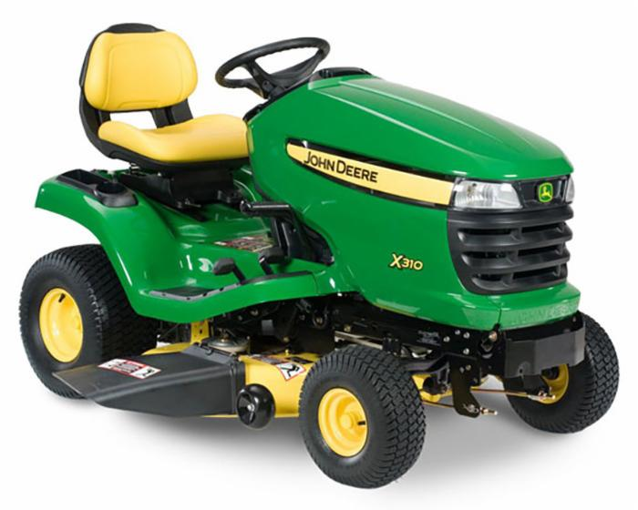 John Deere Select Series X300 Lawn Tractor X330 42 in Deck