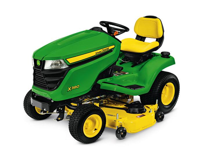 John Deere Select Series X300 Lawn Tractor X380