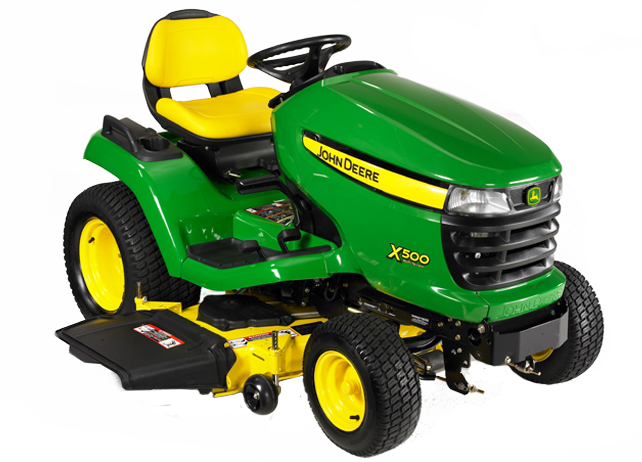 John Deere X500 Lawn Tractor: Ideal for Homeowners