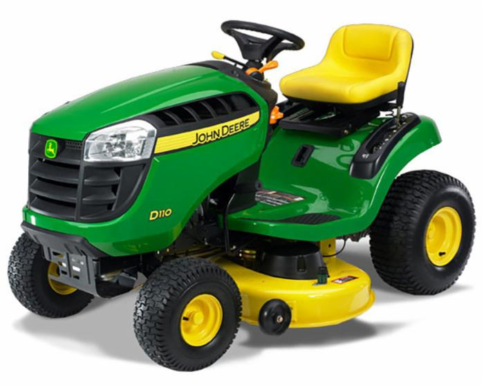 John Deere 100 Series Lawn Tractor D110