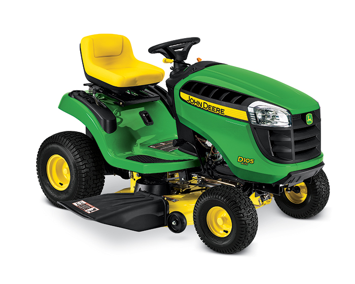 John Deere 100 Series Lawn Tractor D105