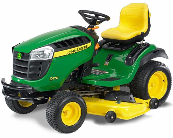 John Deere 100 Series Lawn Tractor D170