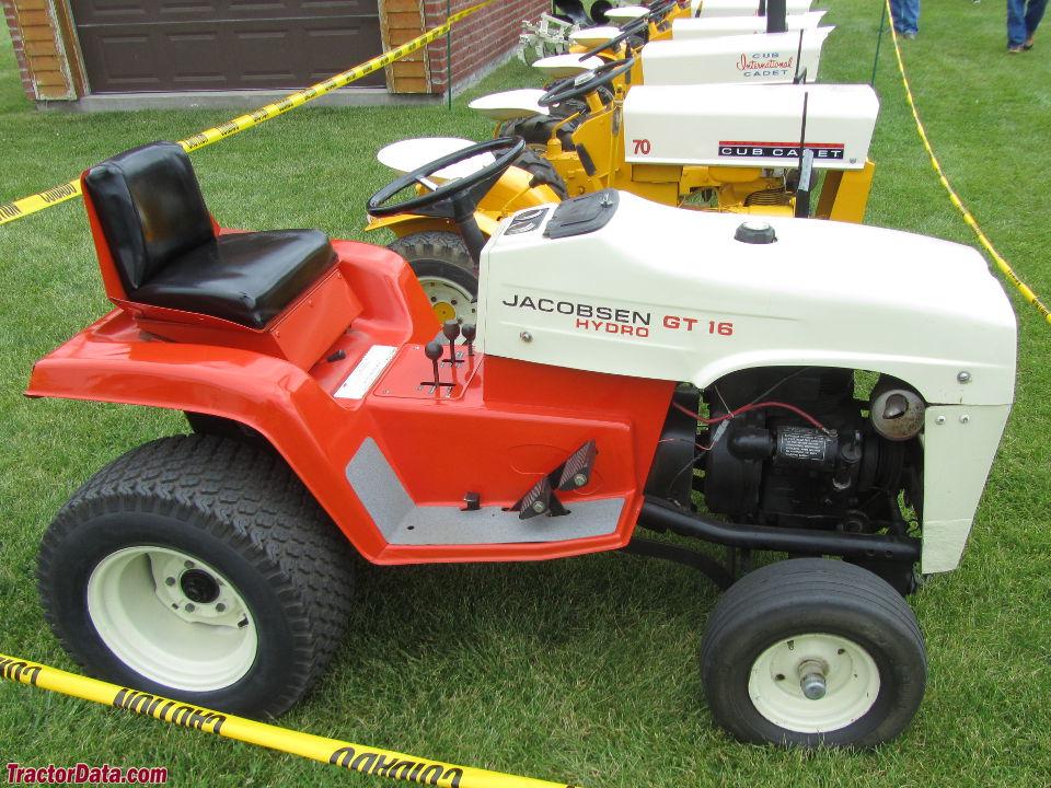 TractorData.com Jacobsen GT-16 tractor photos information