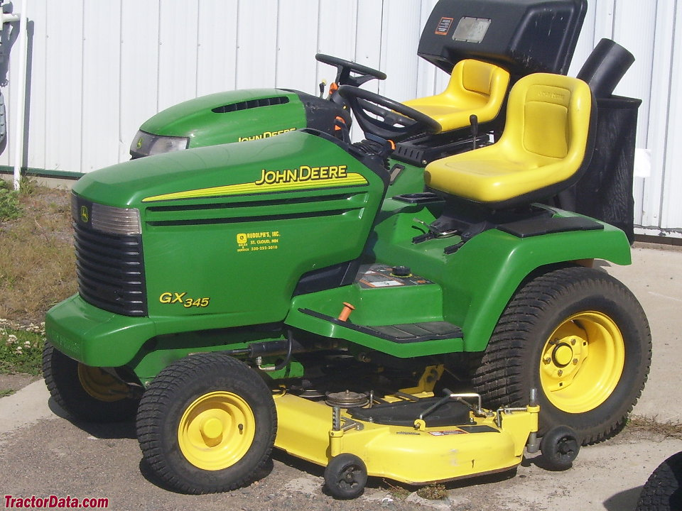 TractorData.com John Deere GX345 tractor photos information