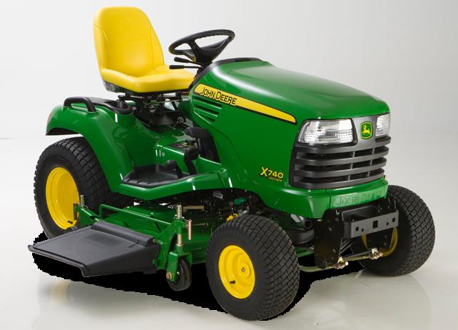 John Deere X740 X700 Series Lawn Tractors Riding Lawn ...