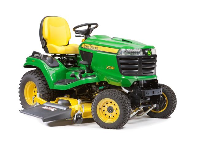 Diesel Riding Lawn Mower   X758   Signature Series   John ...