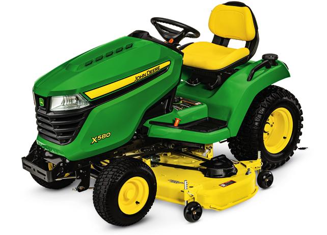 X500 Select Series Lawn Tractor   X580, 54-in. Deck   John ...