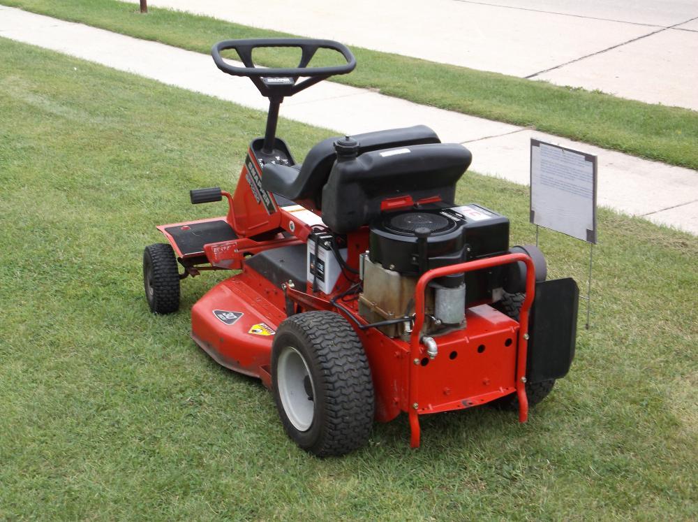 Snapper rear engine rider - Tractors - GTtalk