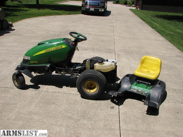 ARMSLIST - For Sale: John Deere SST18 Lawn Tractor
